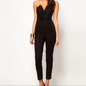 ASOS • Black Fitted Jumpsuit